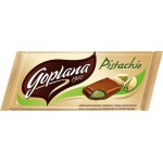 Молочный шоколад с фисташковой начинкой